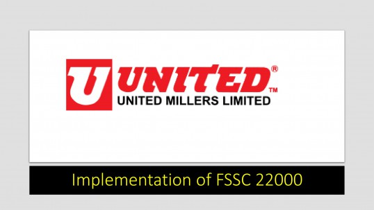 Implementation of FSSC 22000- United Millers-1